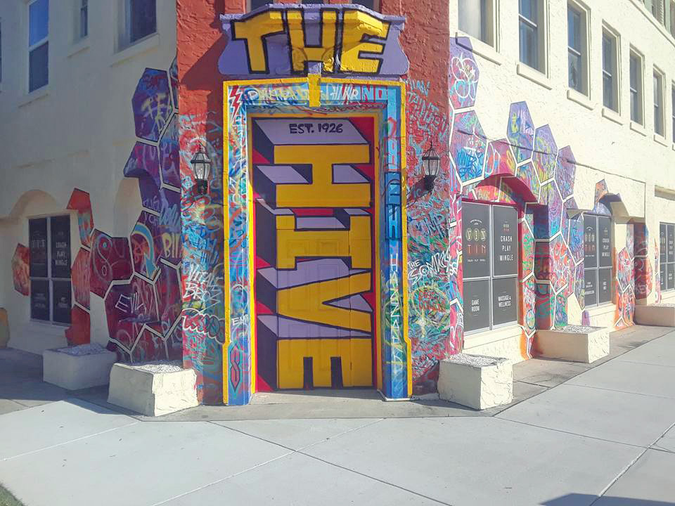 The Hive Entrance