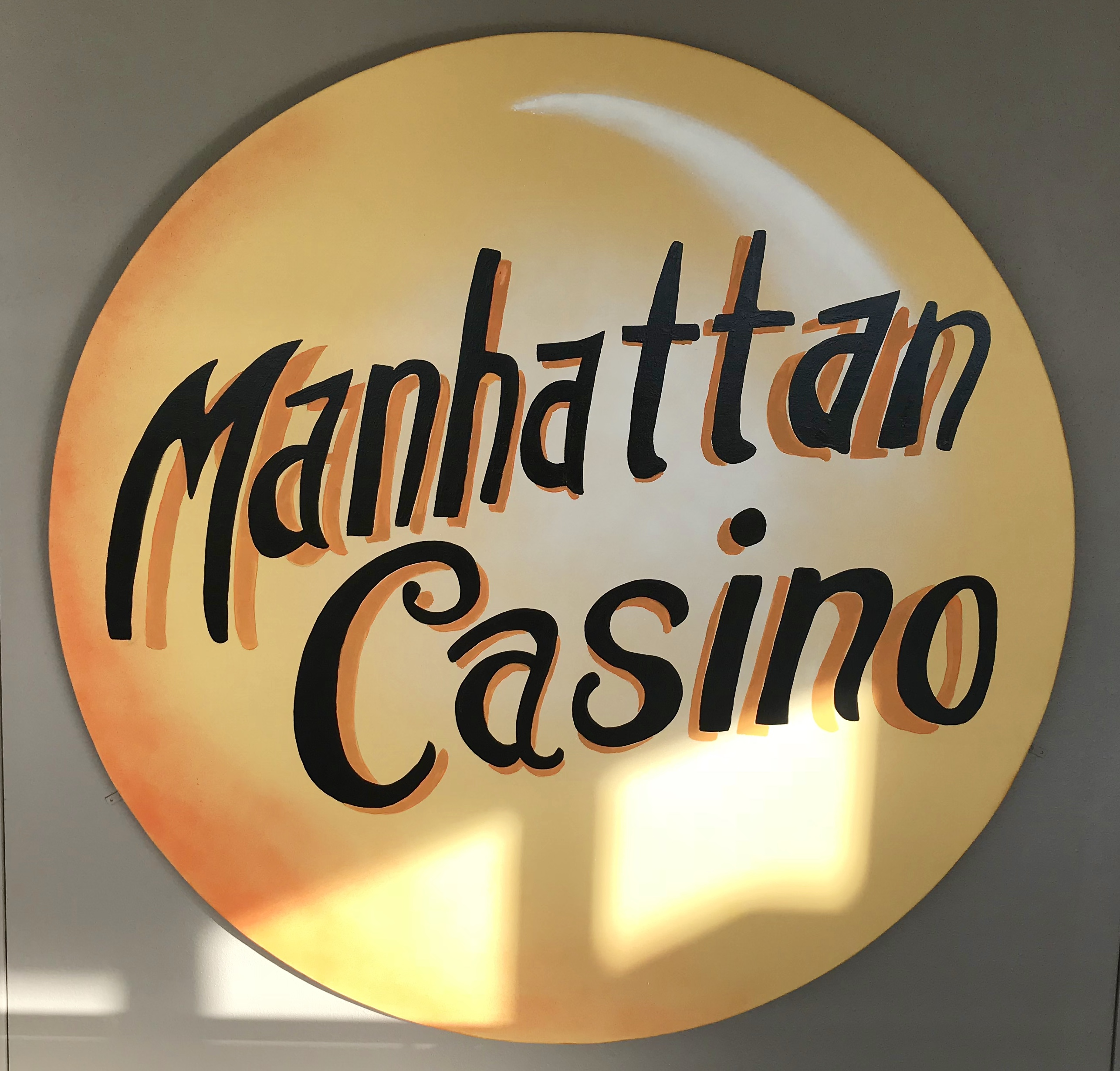 Manhattan Casino Sign