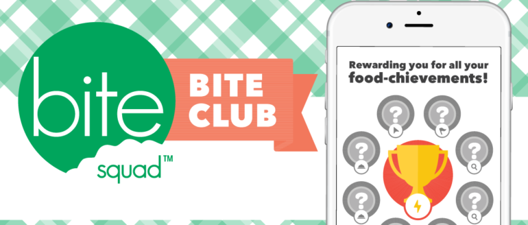 "Bite Squad Introduces ""Bite Club"" Rewards Program"