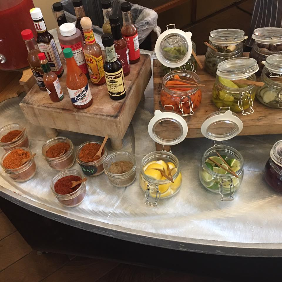Marchand's Bloody Mary Bar