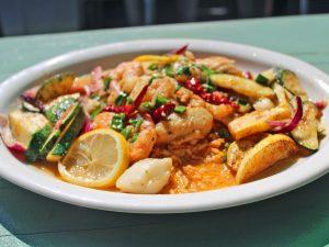 Seafood Platter Ajillo