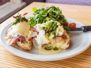 The Benedict at Lolita's Wine Market