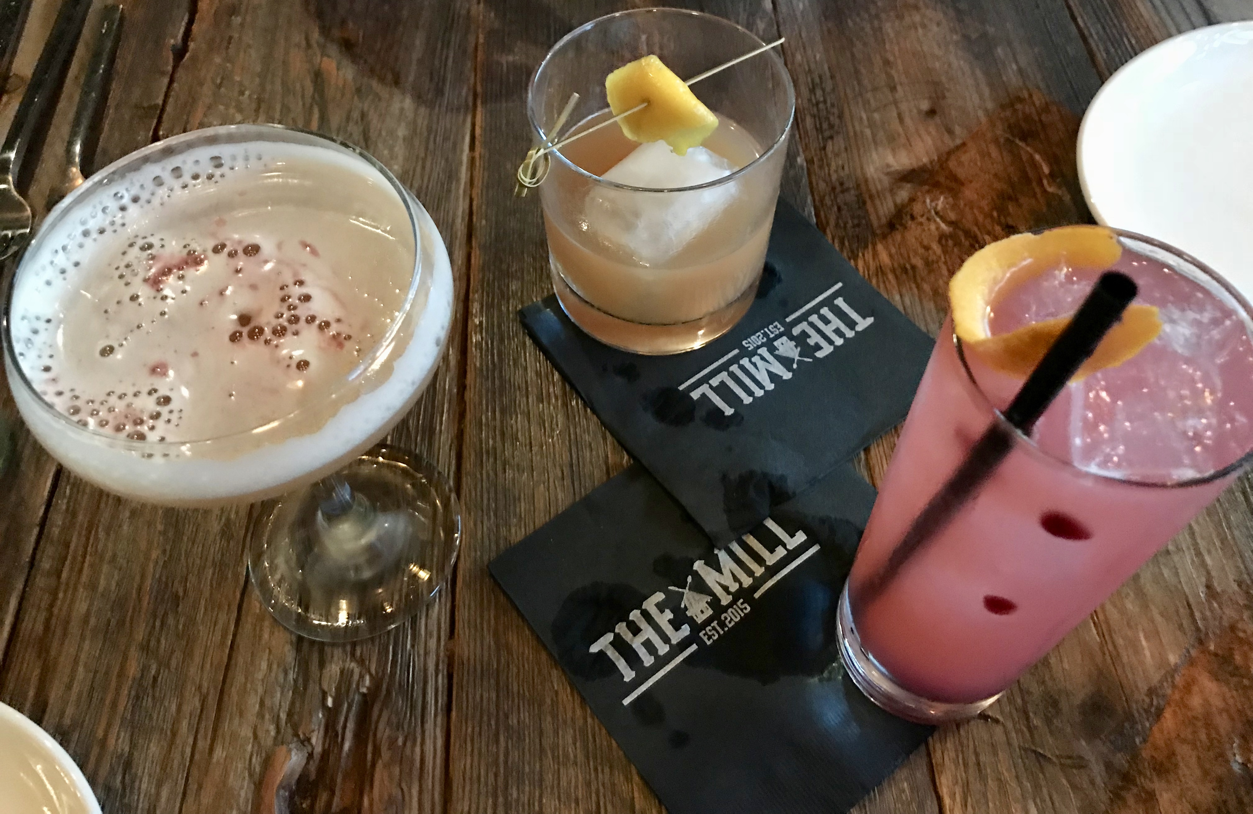 The Mill New Cocktails