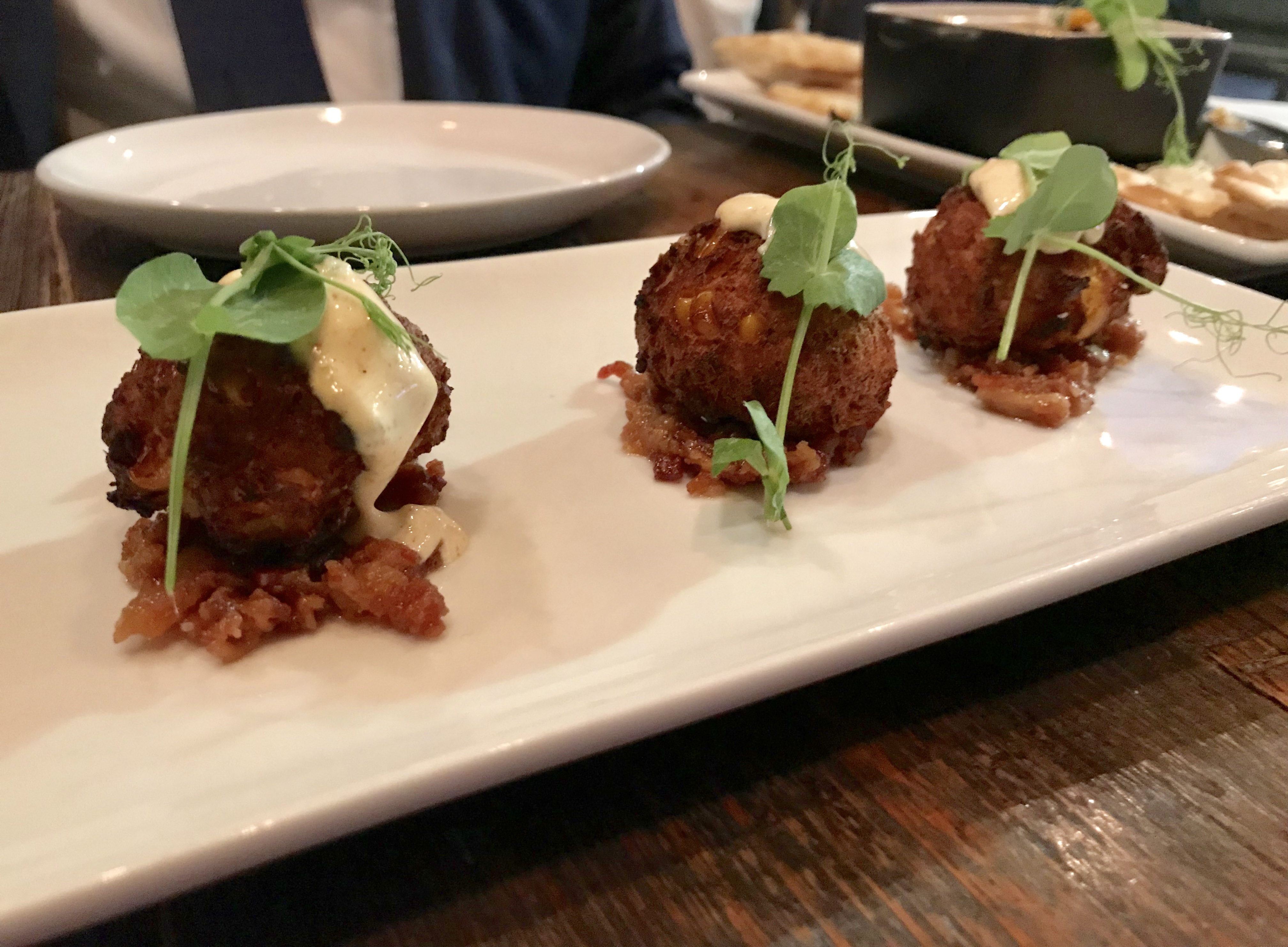 The Mill Pimento Crab Corn Fritter