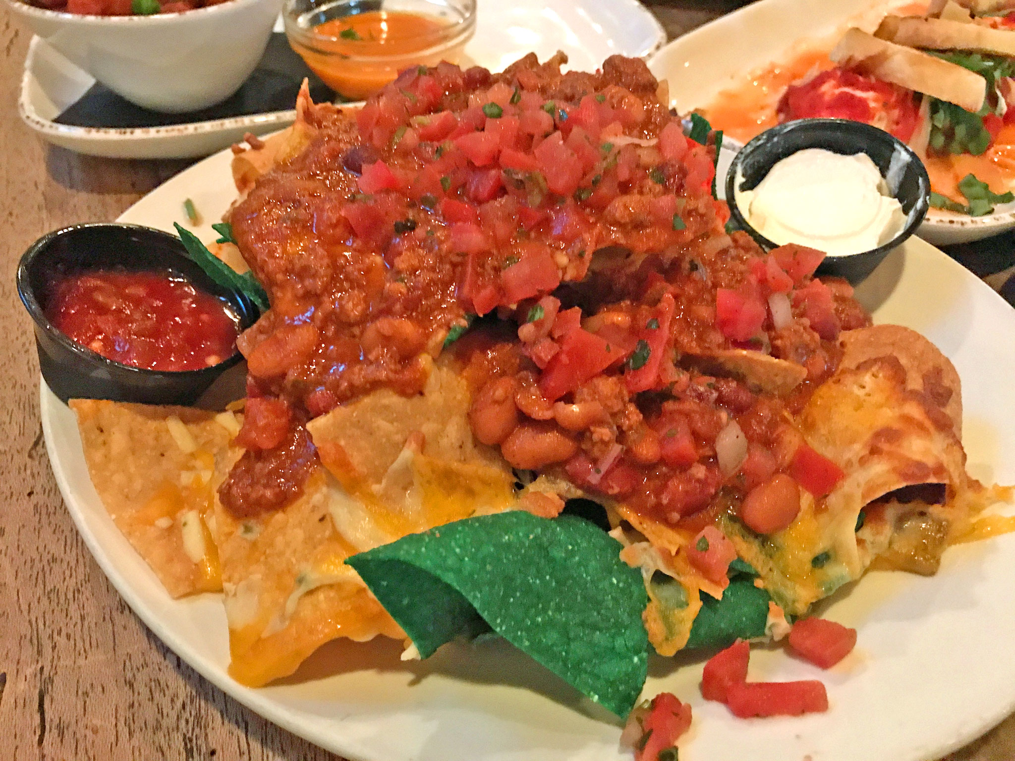 Nachos at The Tap Room