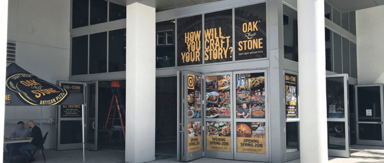 Oak & Stone Opens July 9th in Downtown St. Pete