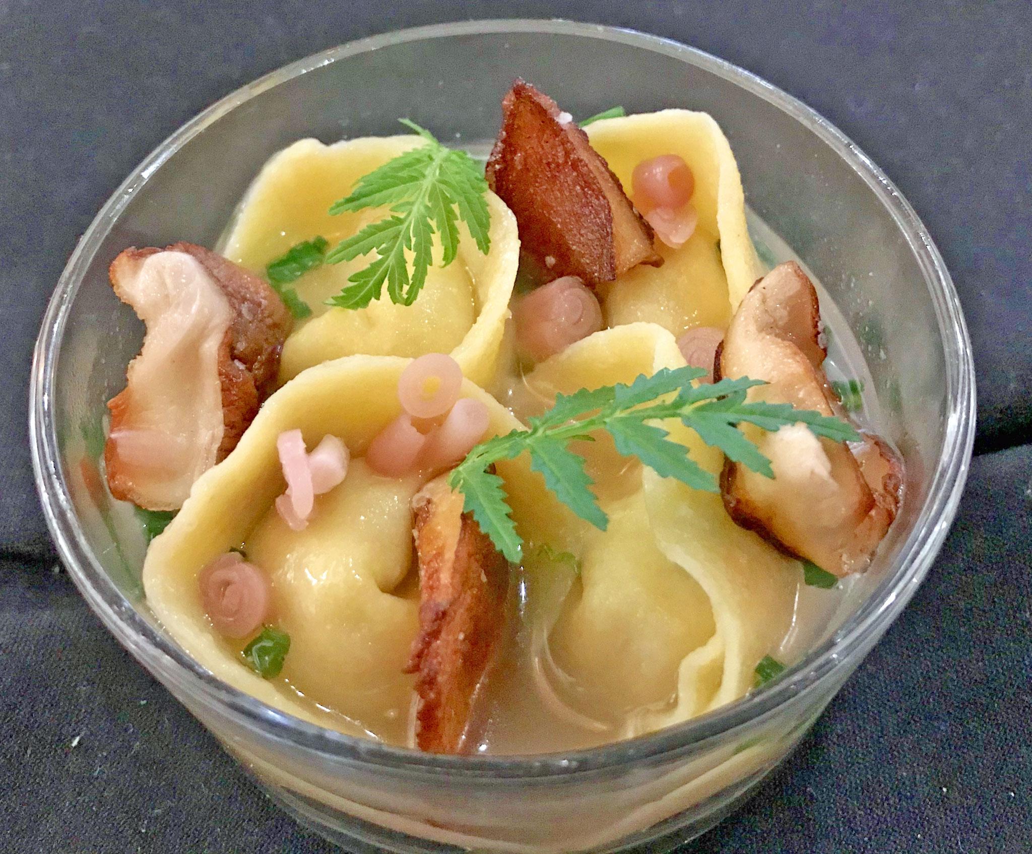 Celery-Root Tortellini