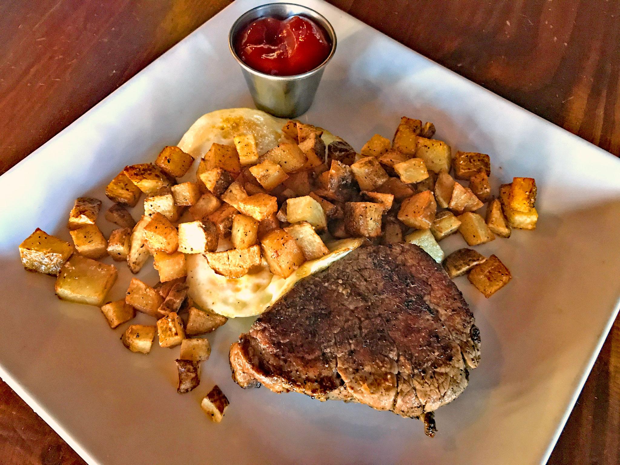 Filet Steak N Eggs