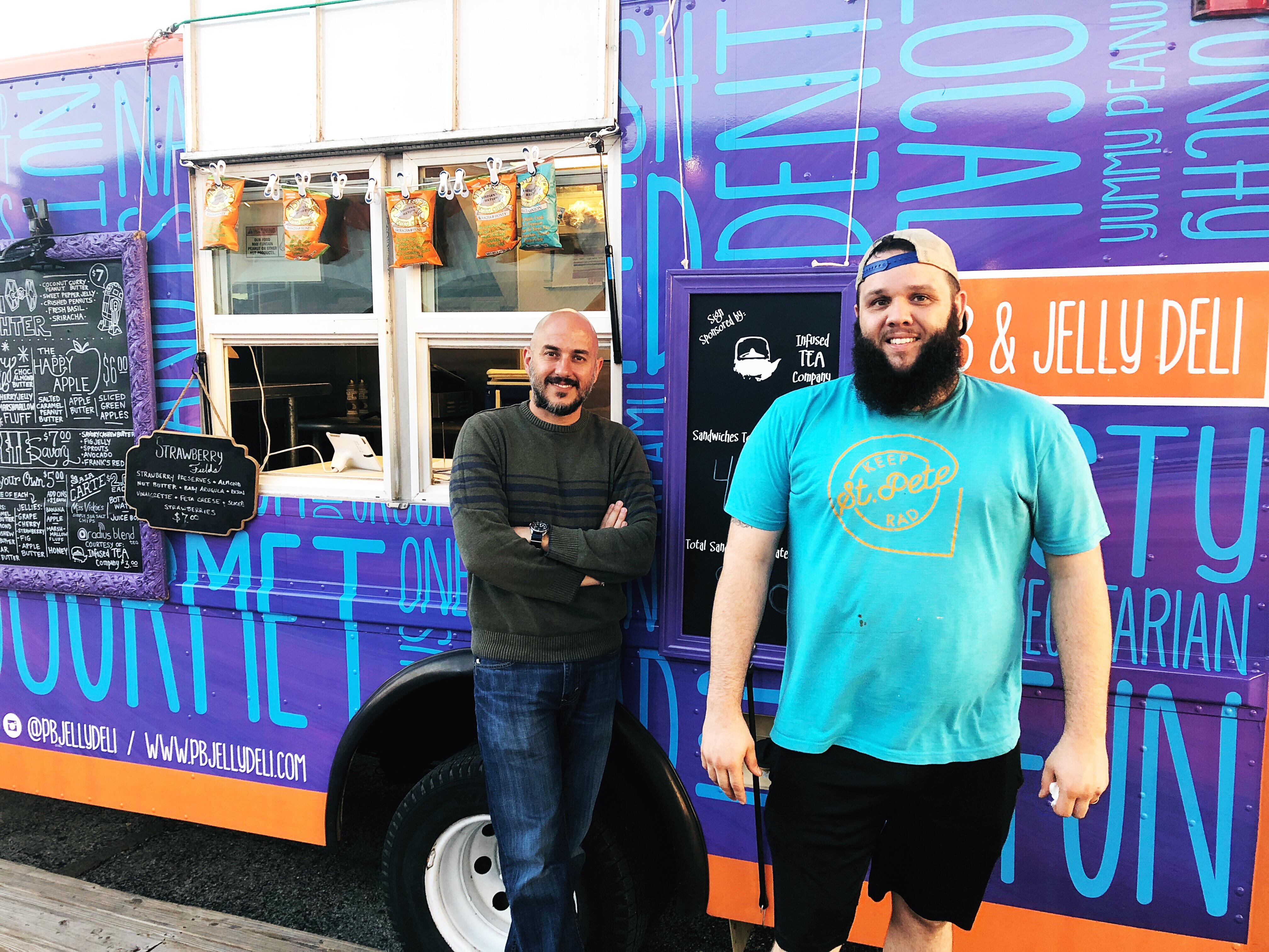 Rob & Noah of the PB & Jelly Deli