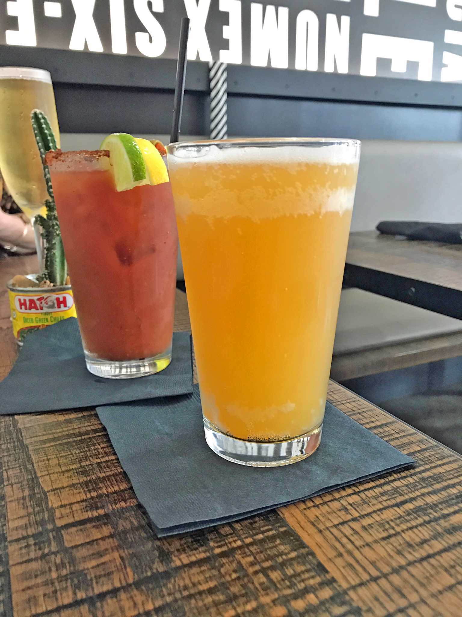 Bloody Mary and BeerMosa