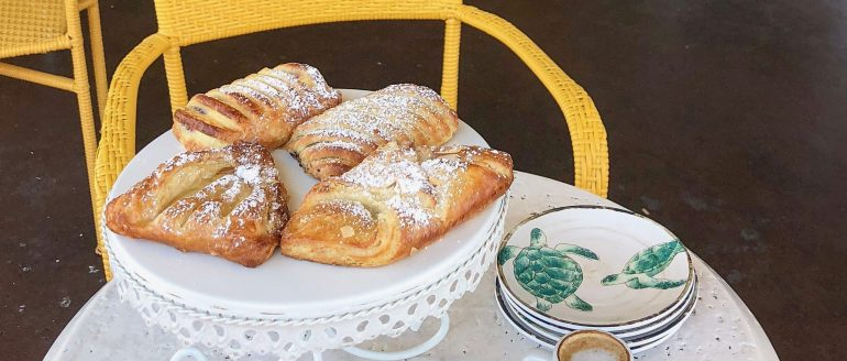 Fresh Pastries at Café Soleil French Bakery and Deli