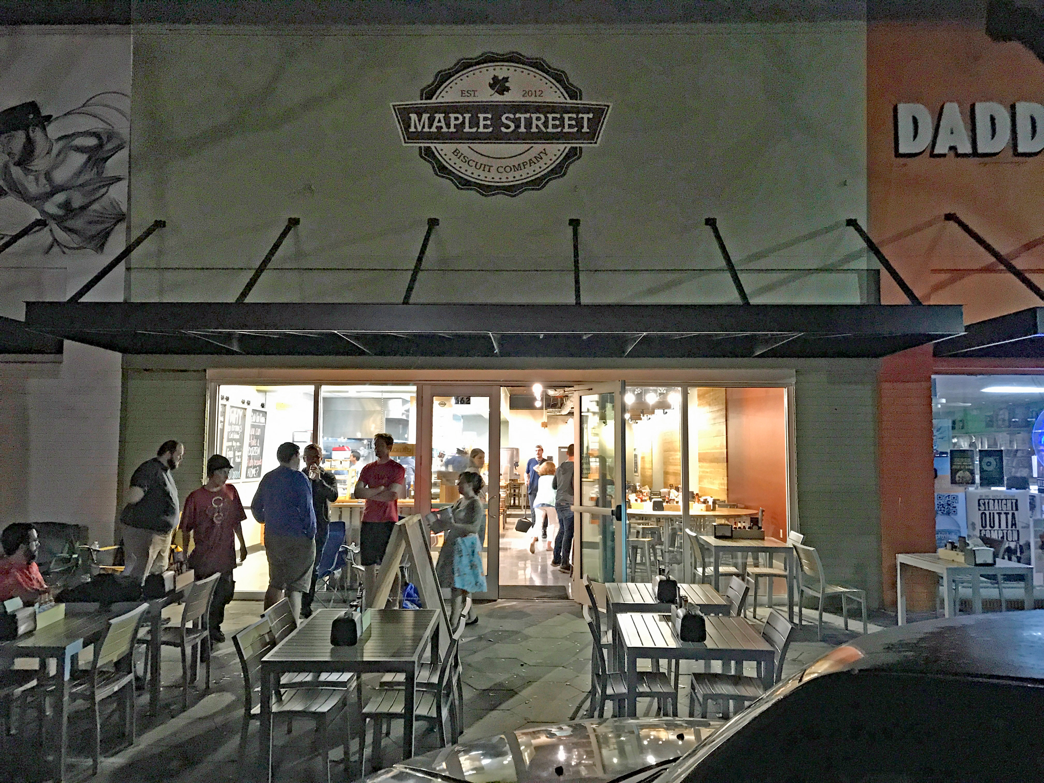 Maple Street Biscuit Co. DTSP 6-am April 4th