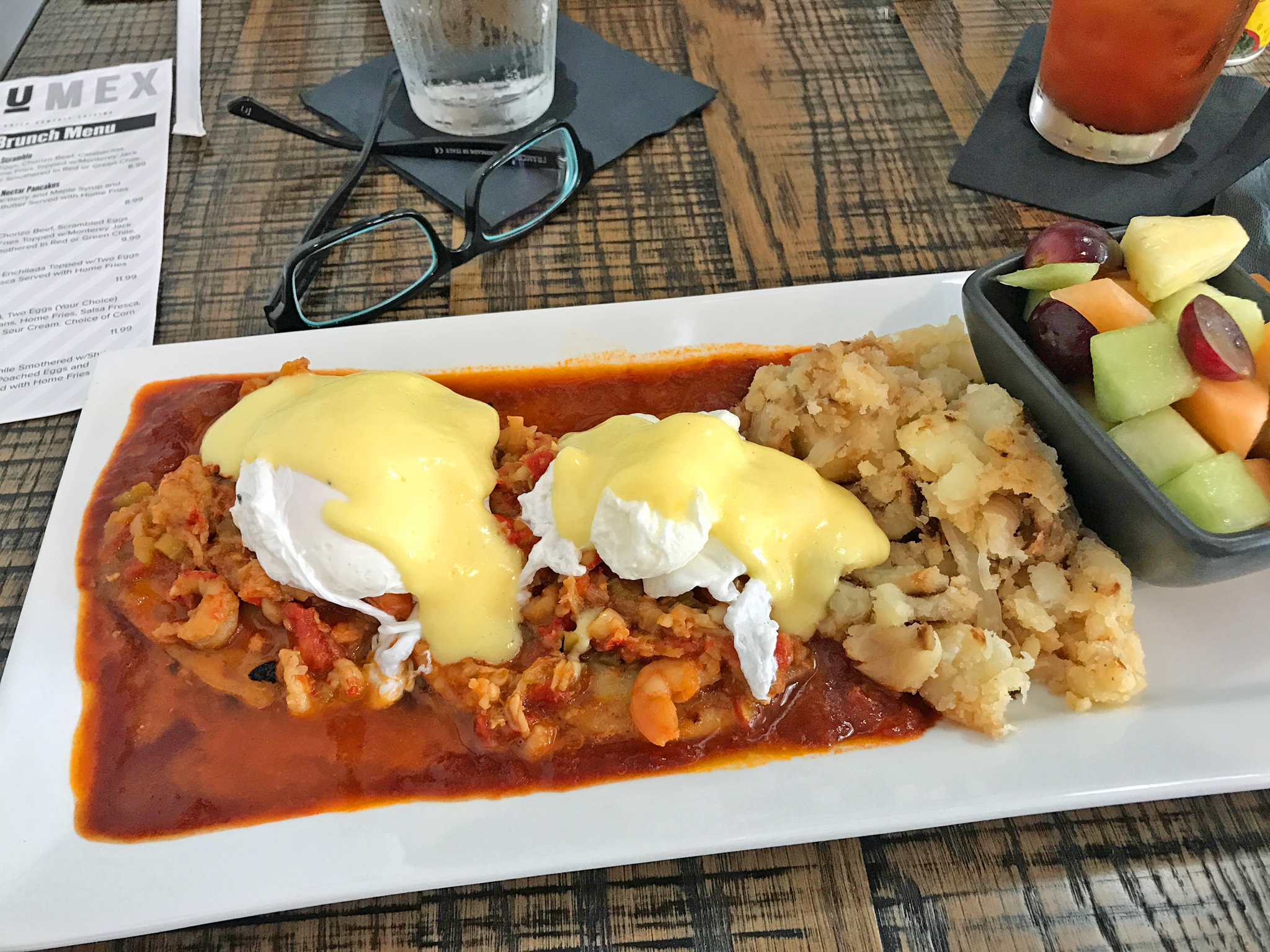 New Mexican Benedict