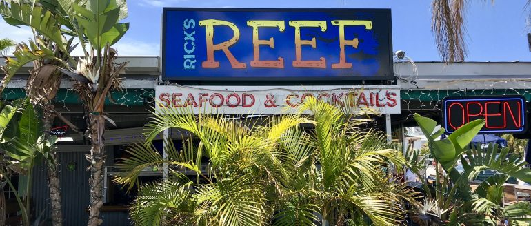 Rick's Reef: Turning Over a New Leaf on St Pete Beach