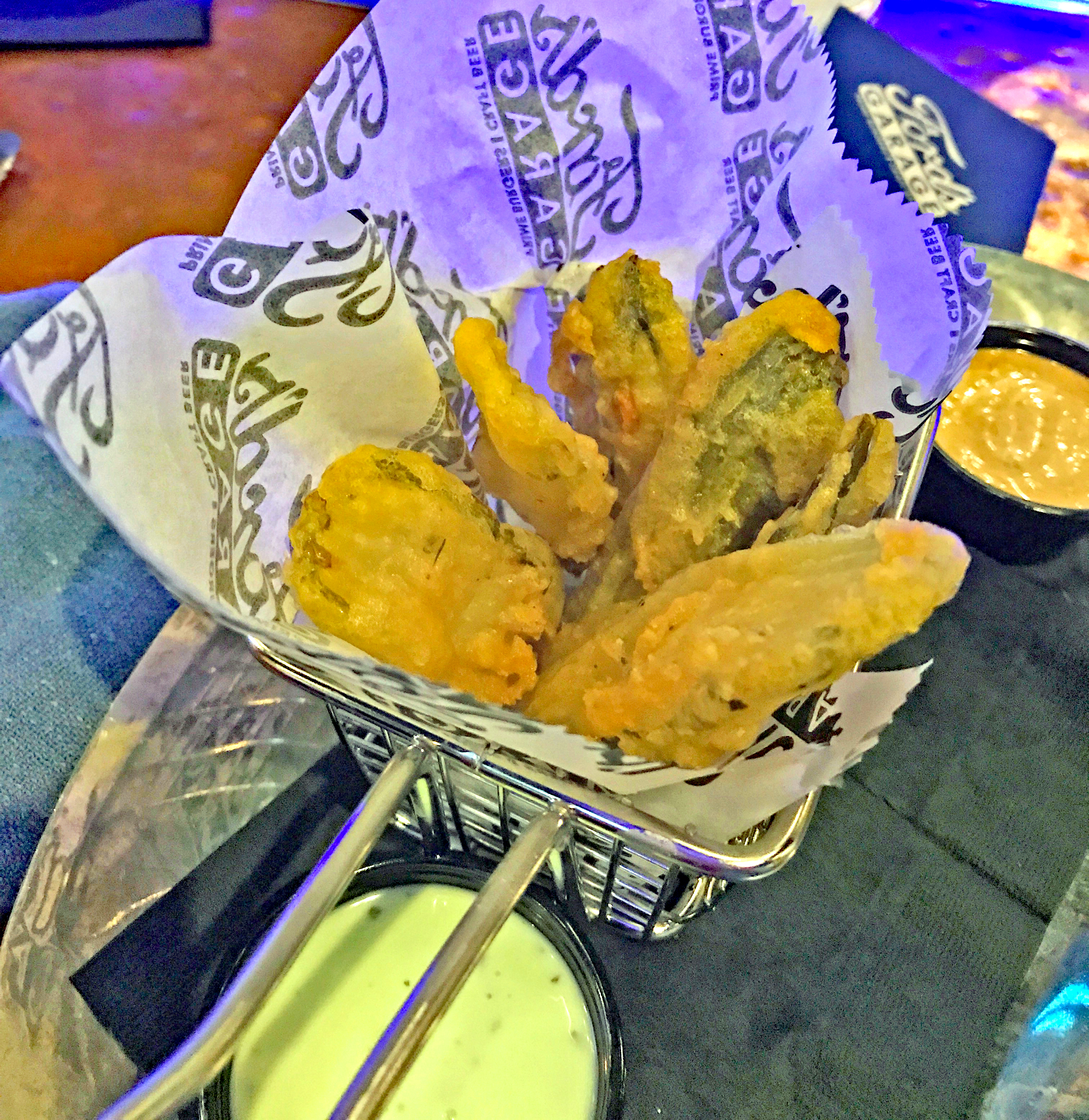 Deep Fried Dill Pickle Planks