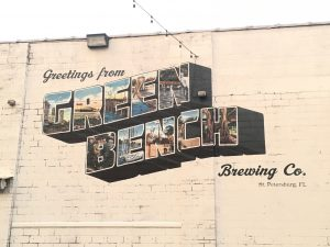 Green Bench Brewing Mural