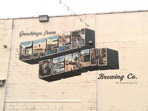 Green Bench Brewing Mural