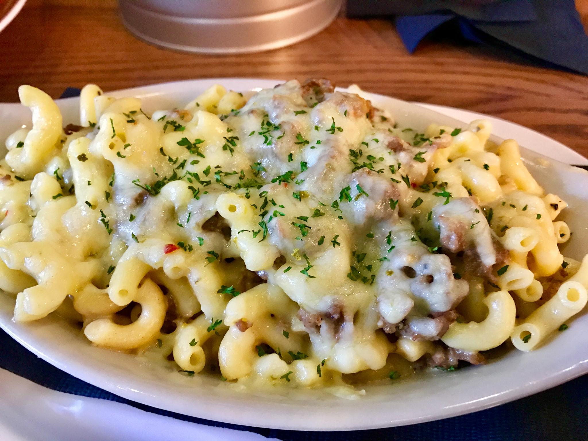 Philly Steak Mac & Cheese