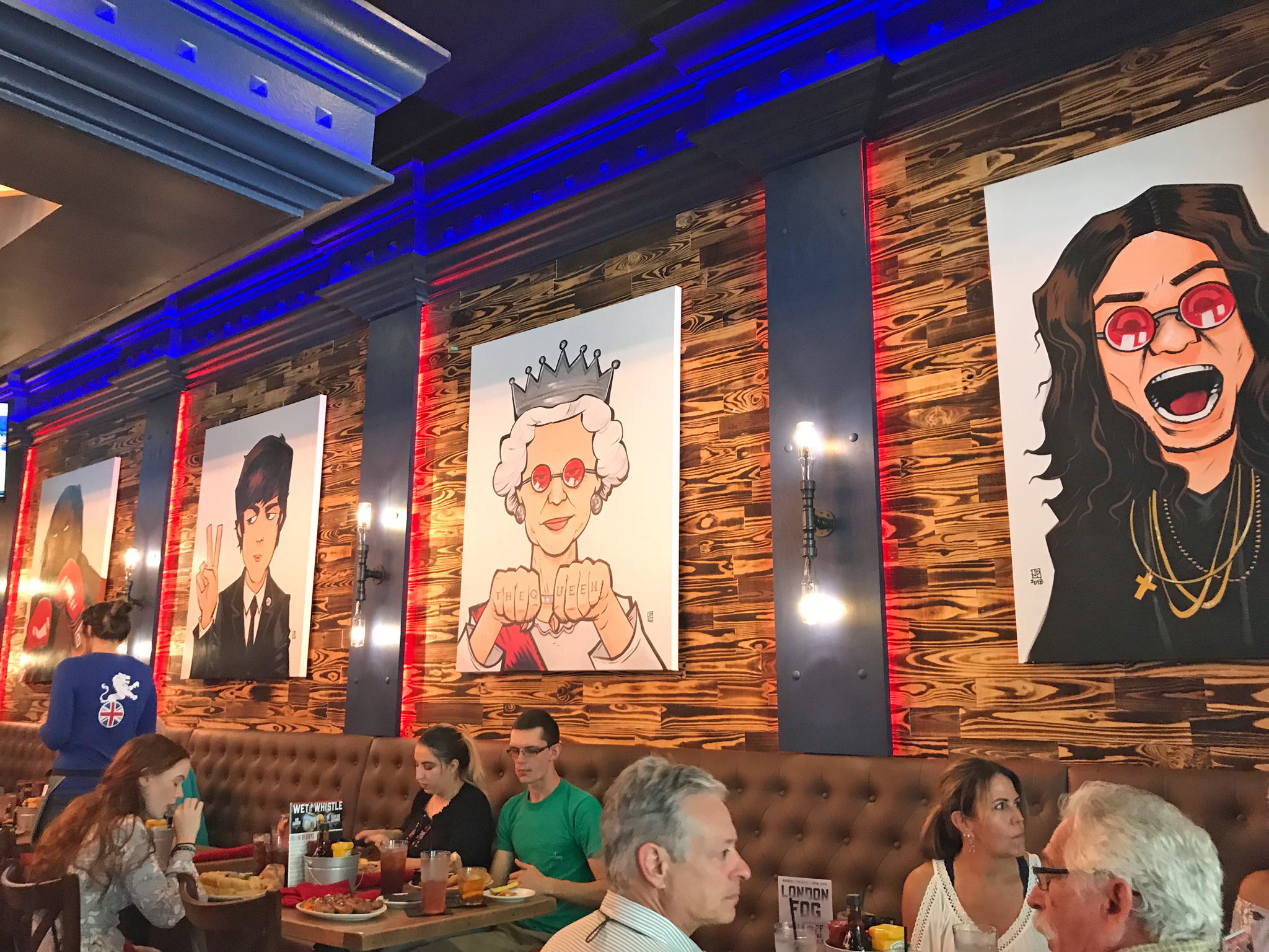 Yeoman's Celebrity Paintings