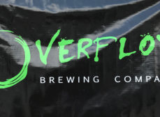 Our Glass Overfloweth at Overflow Brewing Co.