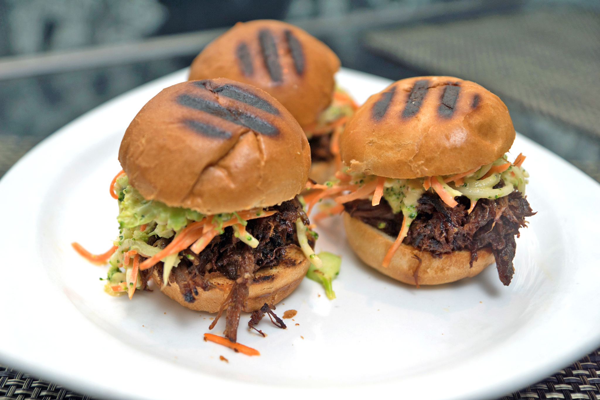 Short Rib Sloppy Joes Slider