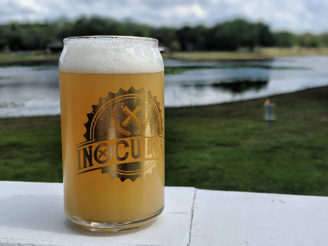 Tangency Sour IPA (photo courtesy of Inoculum Ale Works)