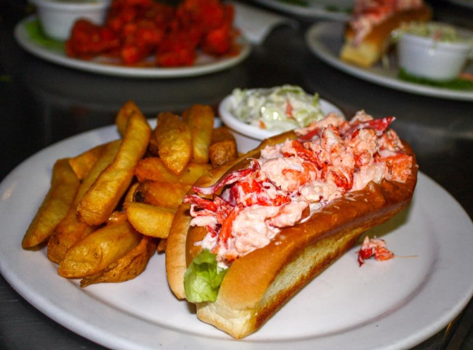 Lobster Roll at Beantown Pub