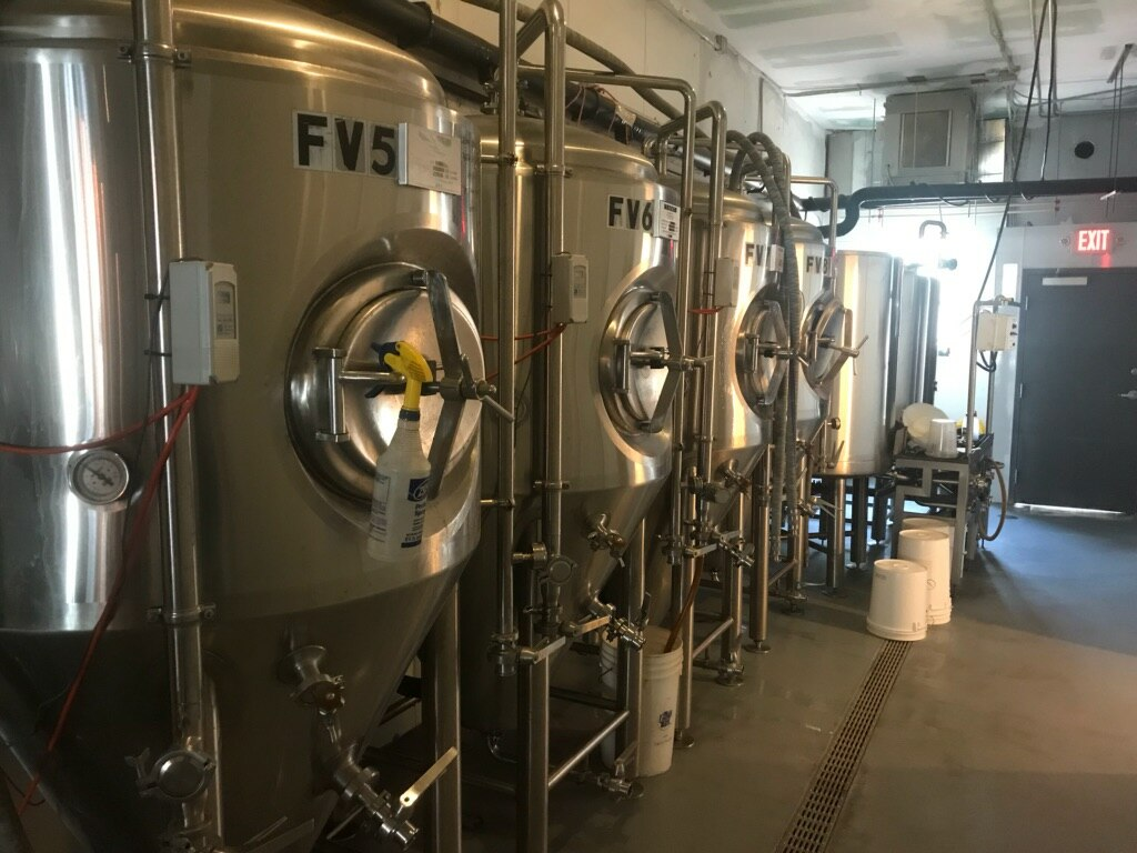 Where the brewing magic happens