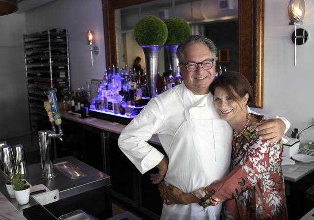 Chef Marlin Kaplan & Lisa Masterson - Owners of Grace Restaurant, Pass-a-Grille (St. Pete Beach) FL