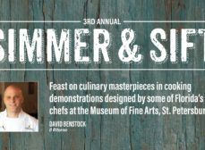 Simmer & Sift with Chef David Benstock of IL Ritorno at the Museum of Fine Arts