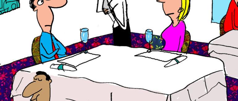 Reality Food Cartoon