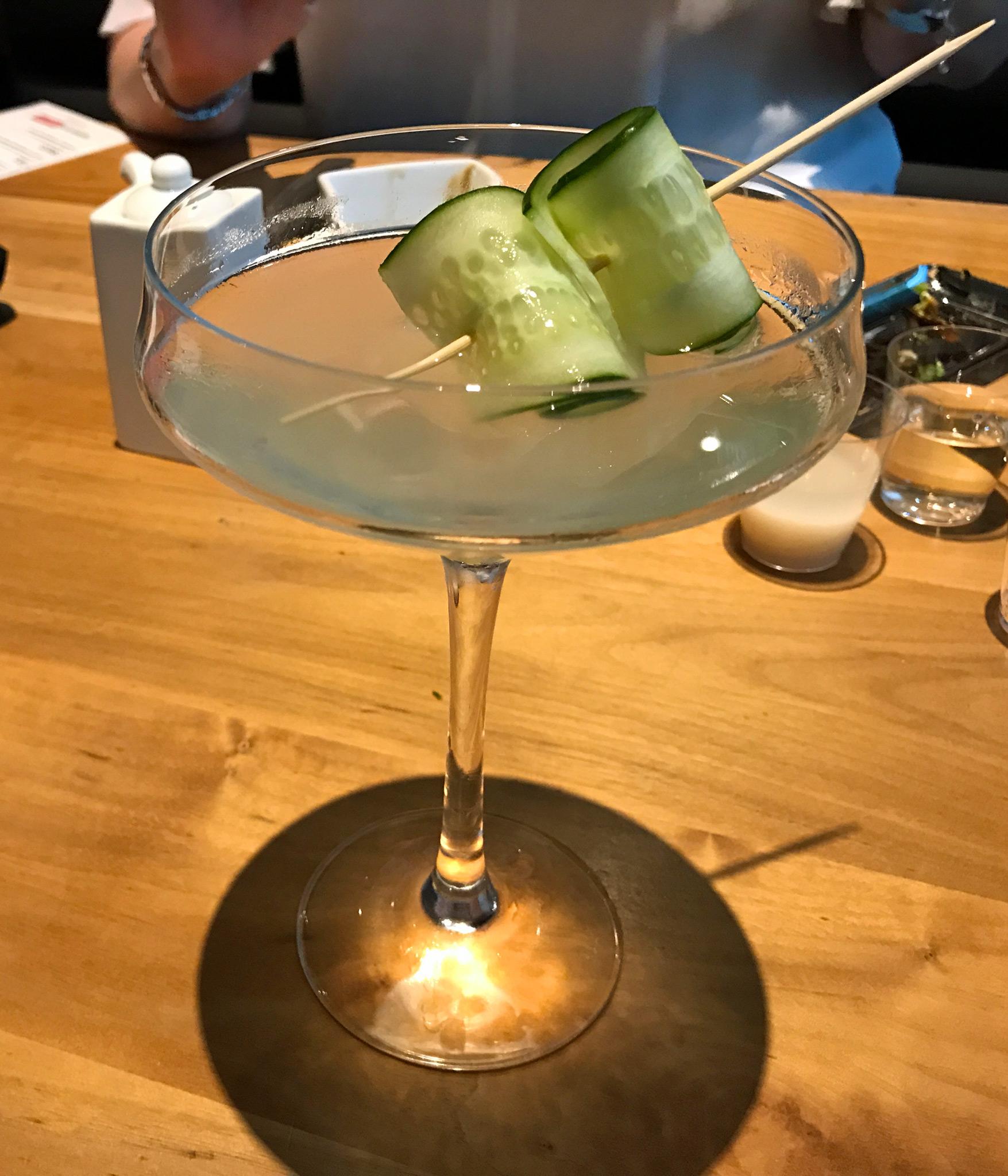 Ginger Cucumber - Stoli cucumber / ginger / cucumber / lime