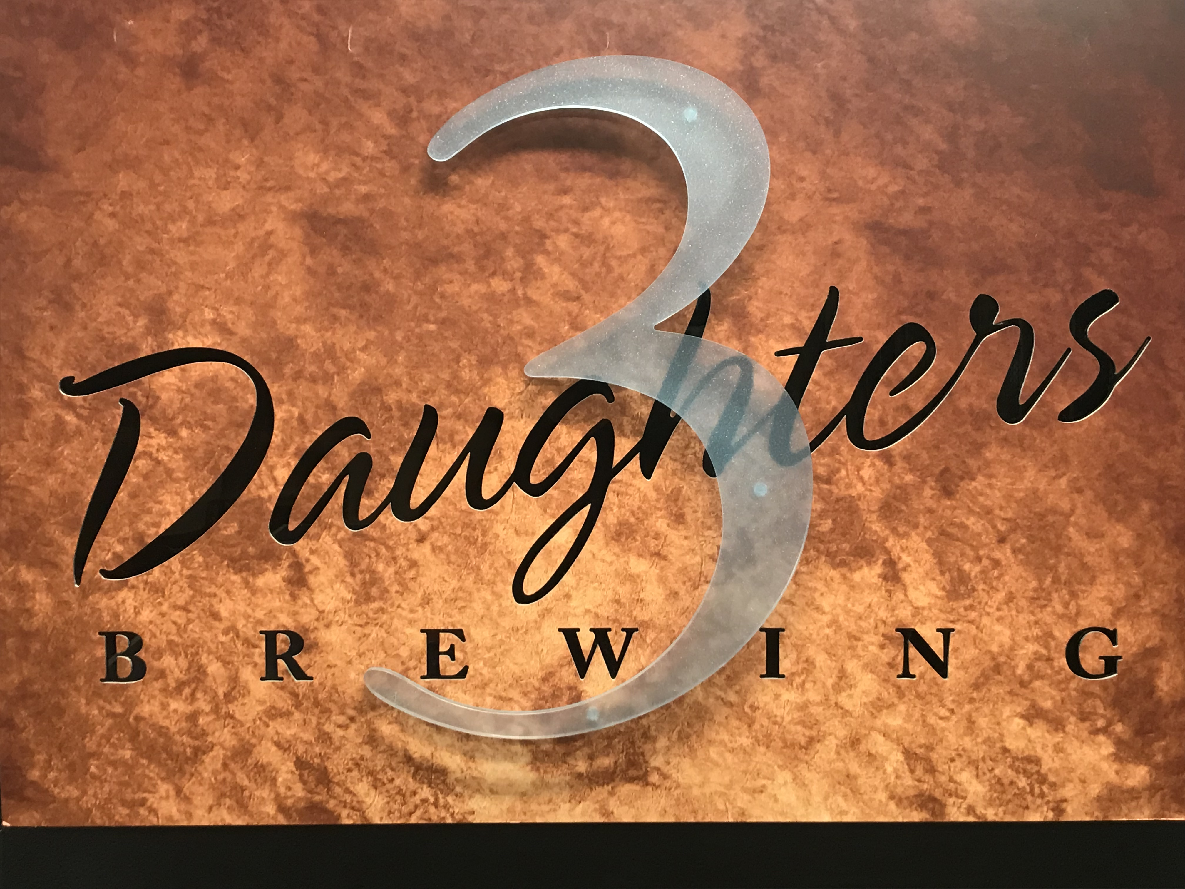 3 Daughters Signage