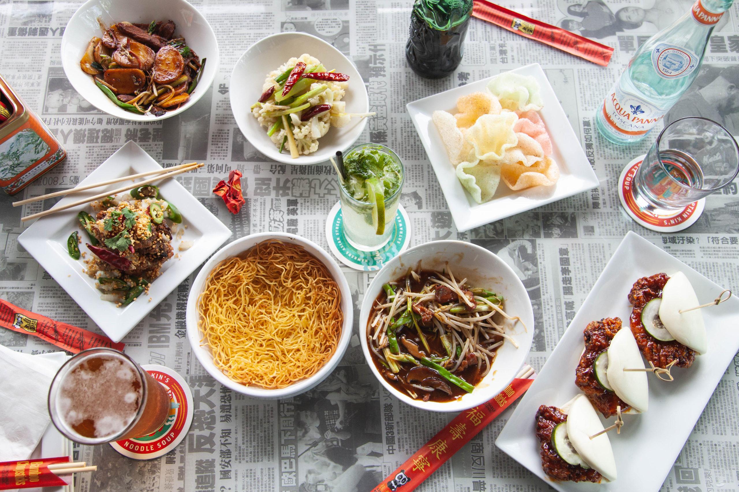 New Menu Items at Hawkers Asian Street Food