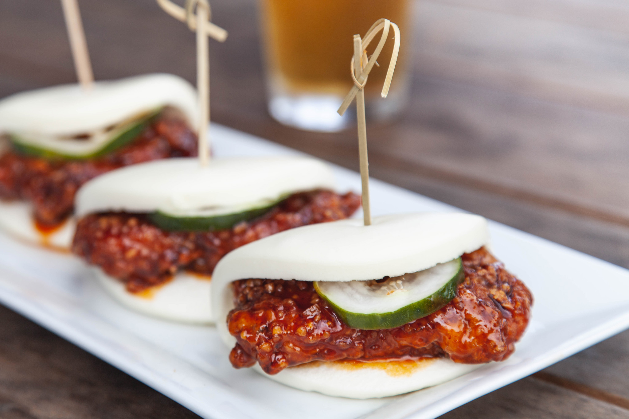 Seoul Hot Chicken Bao