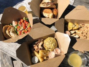 Avocado Salad and Empanadas, Mofongo with Pork, Latin Lunch Box with Chicken and The Cuban
