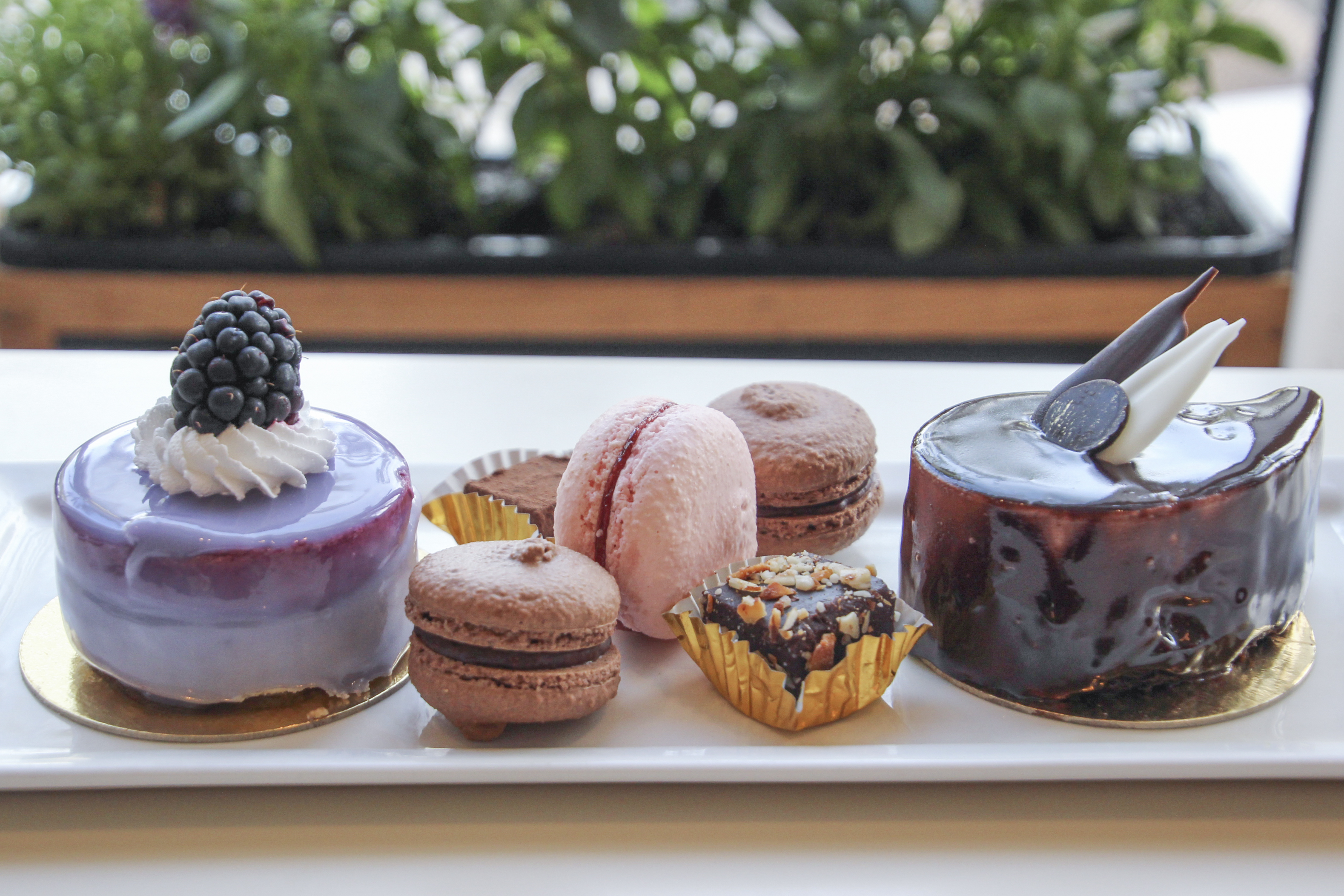 Cassis Bakery's Variety of Desserts