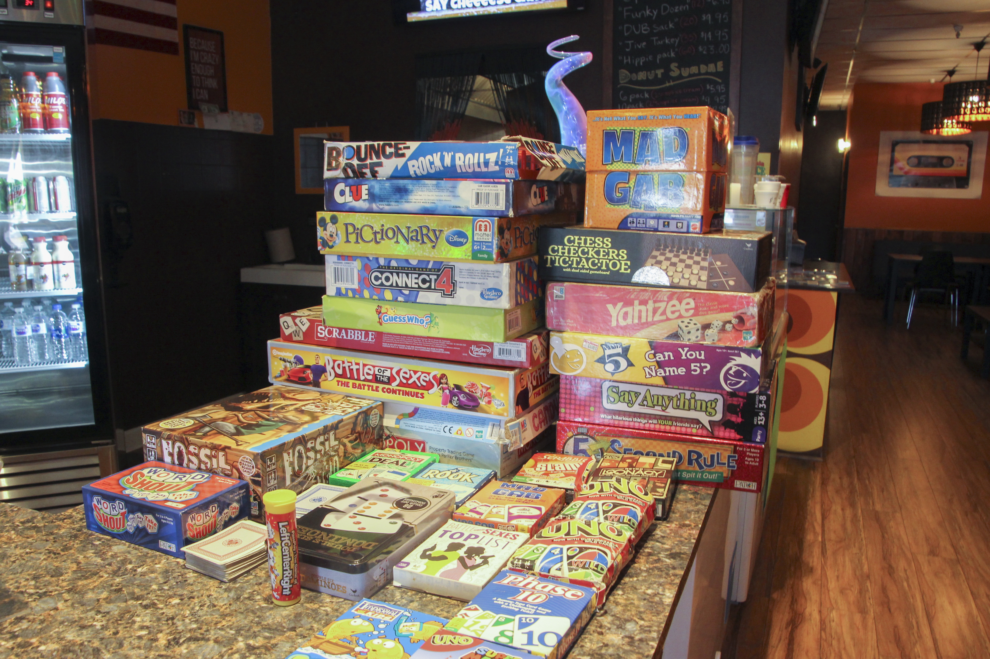Games at Funky Sweets