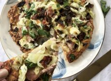 Irish Bacon and Cabbage Pizza