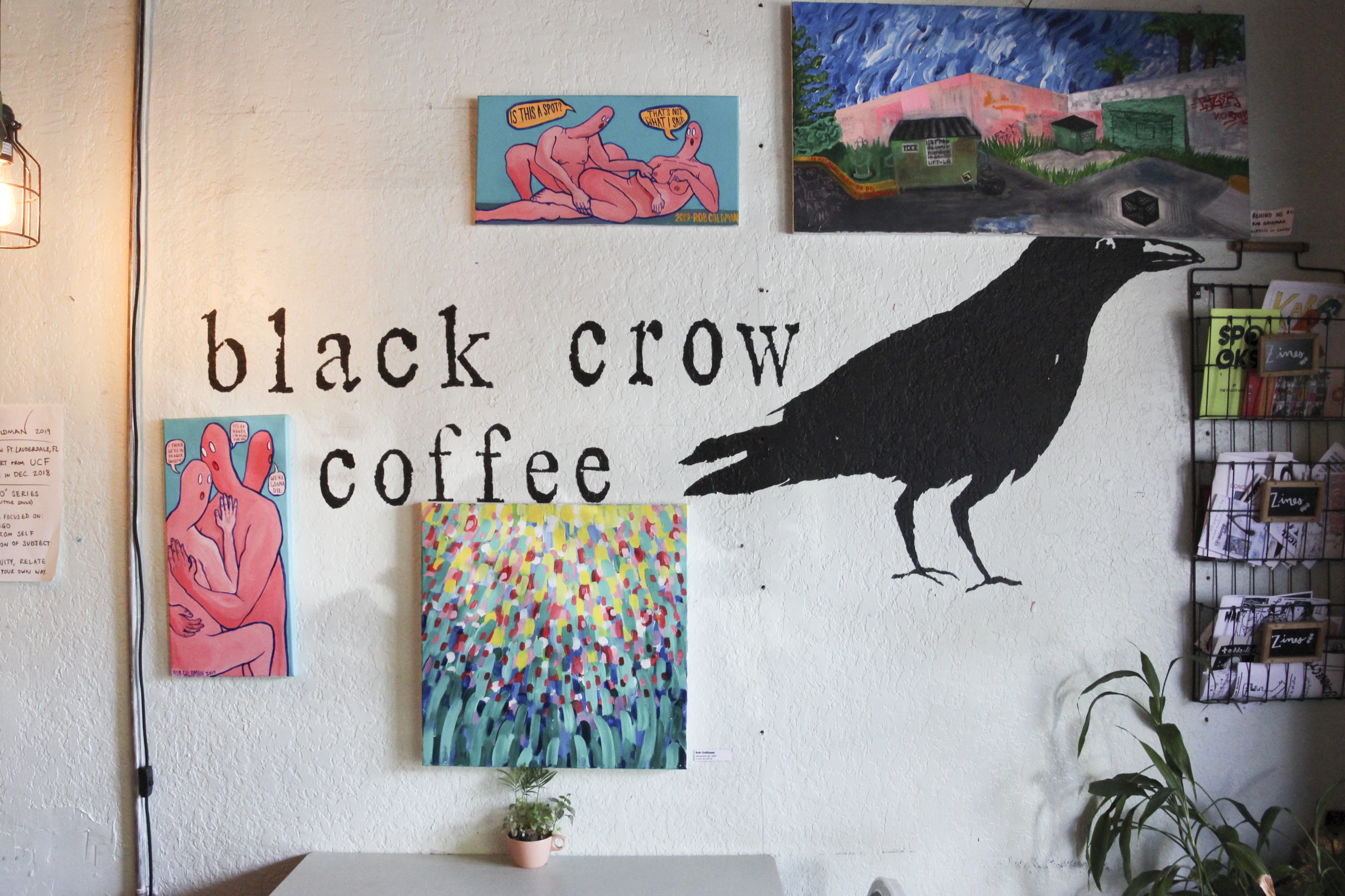 Black Crow Interior