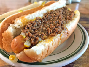 Coney Island Grill Chili Dog