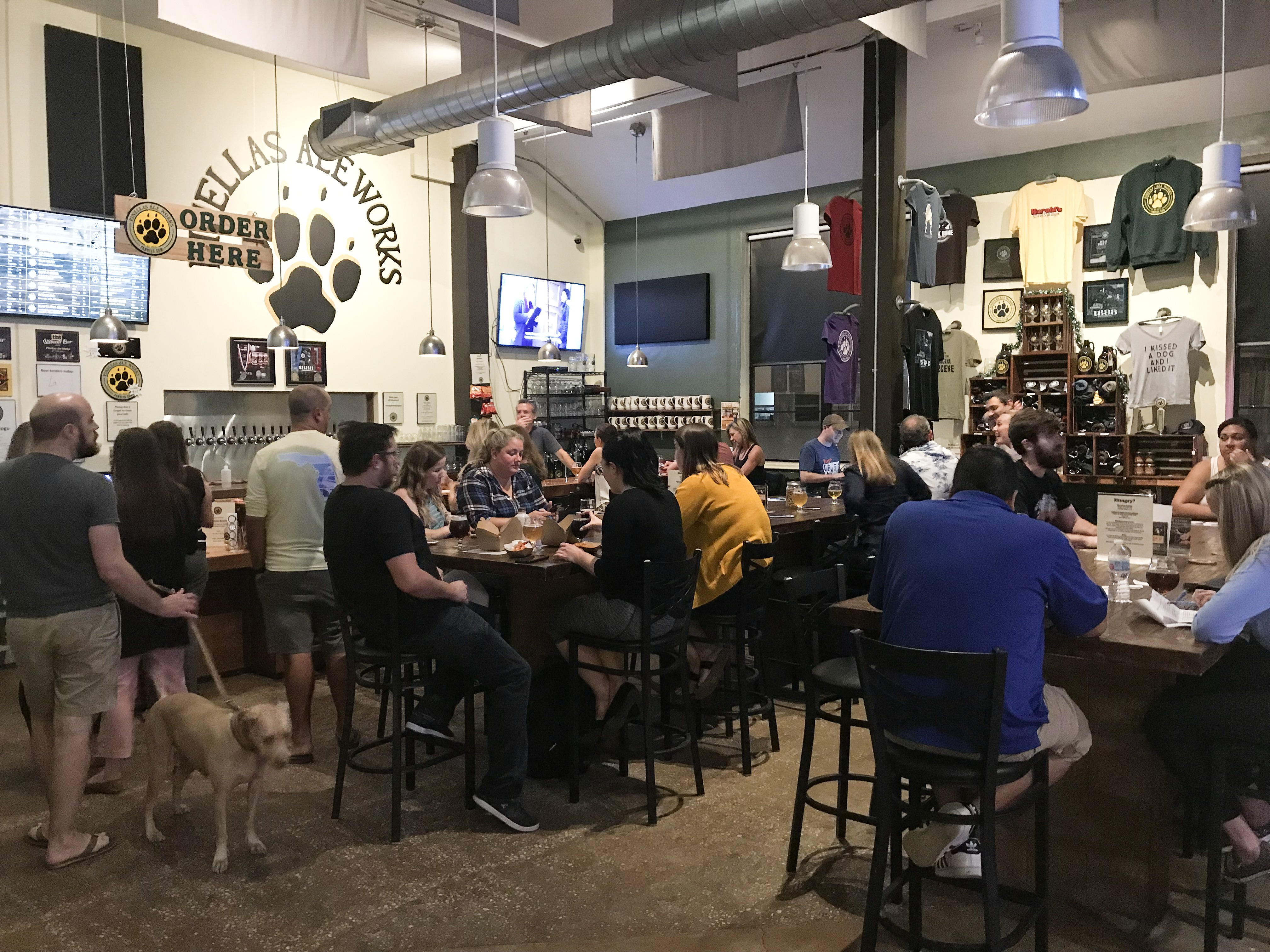 Trivia night at PAW