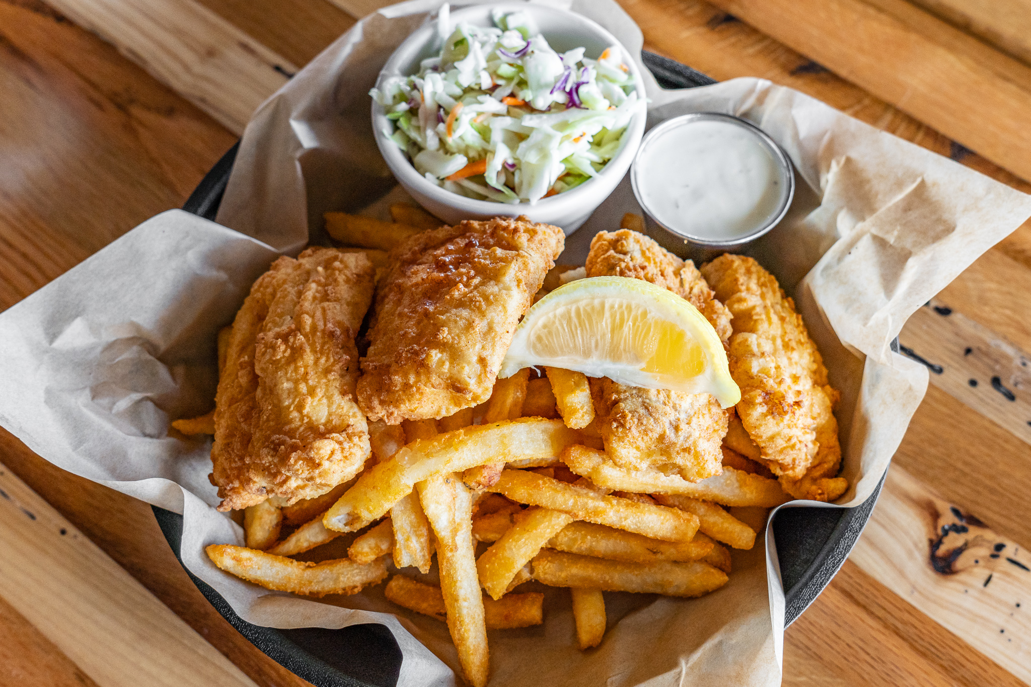 Sea Dog Brew Pub Fish & Chips