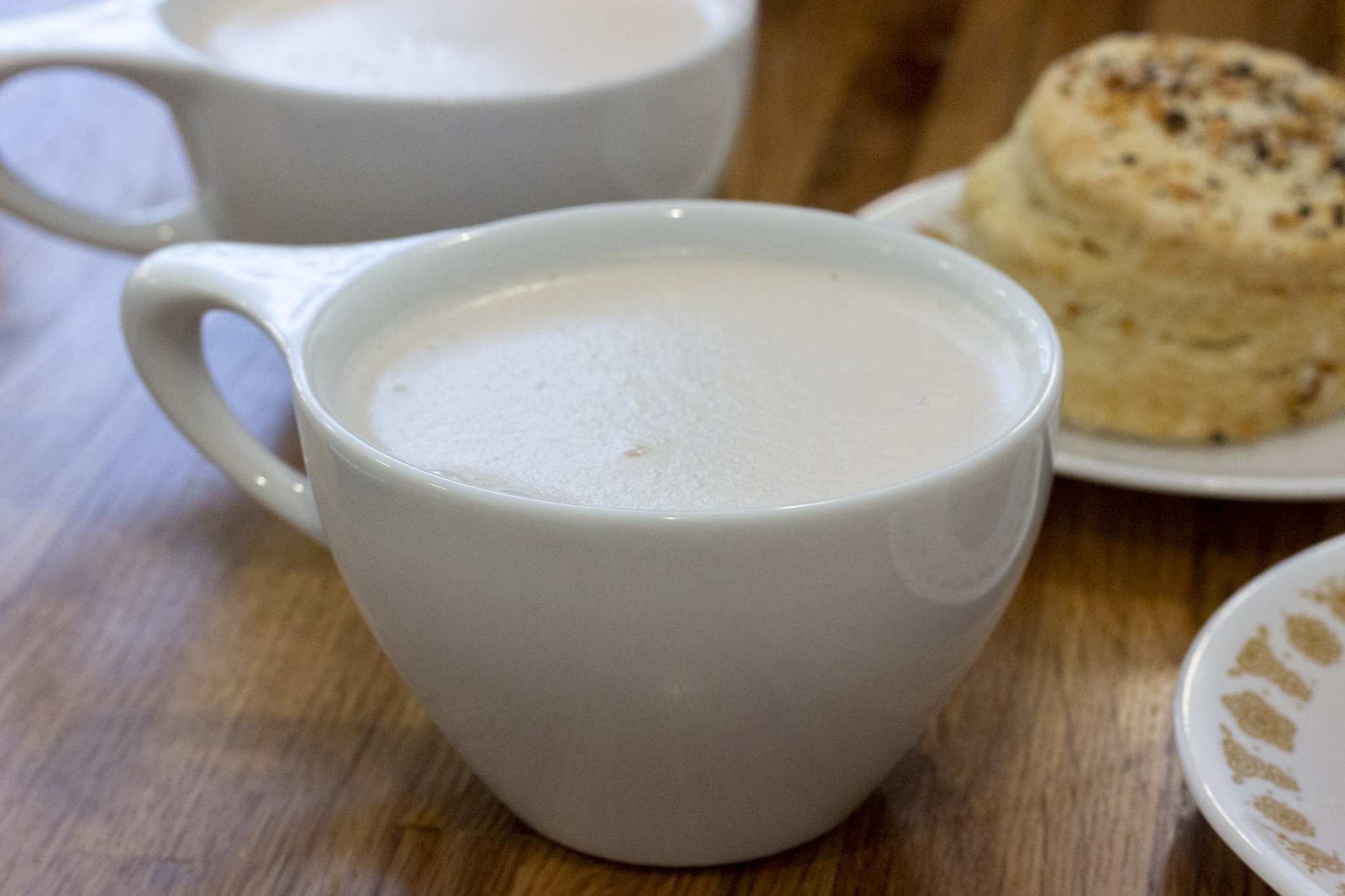 Chai Latte with Almond Milk