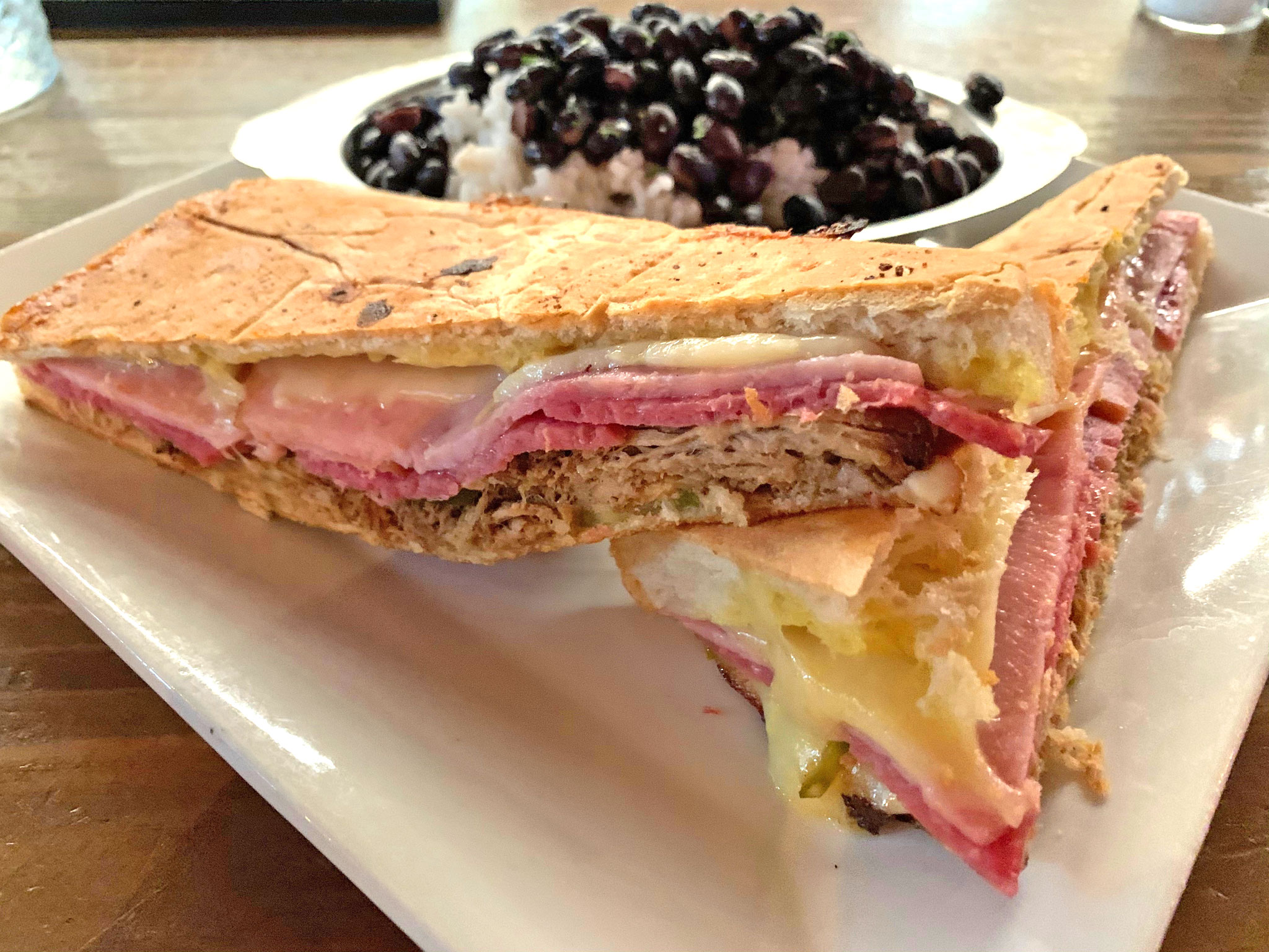 The Galley's Cuban Sandwich