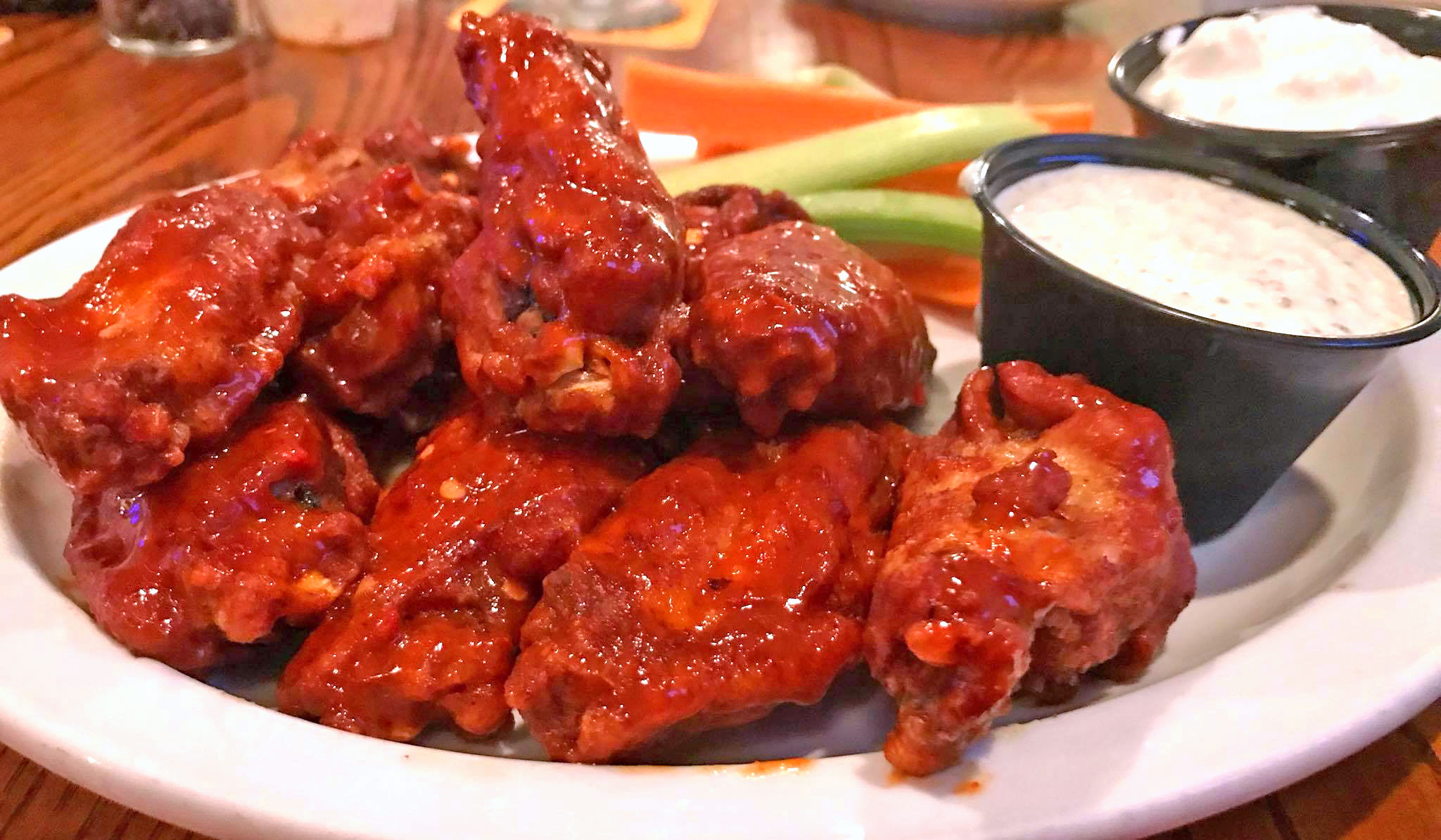 Three Birds Hot Hot Wings