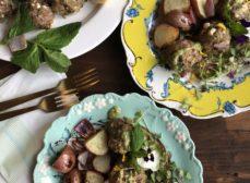 Lamb Meatballs with Mint Pesto Recipe