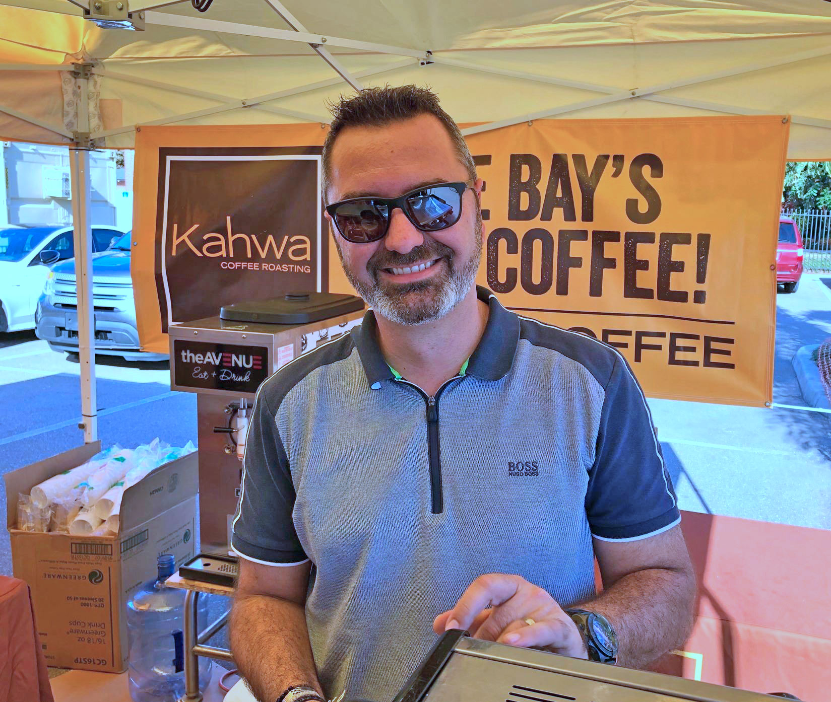 Raphael Perrier of Kahwa Coffee Roasting