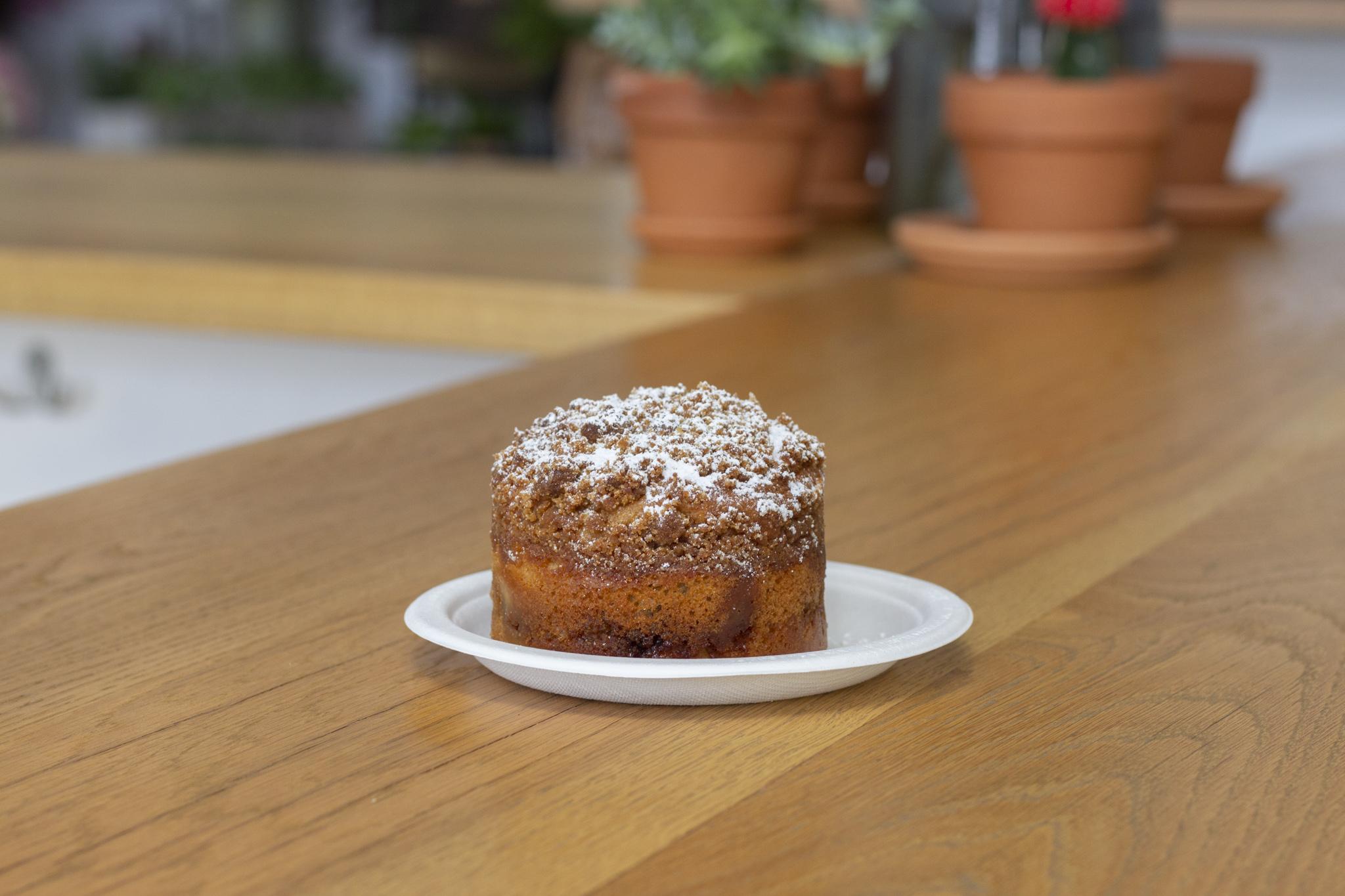 Cinnamon Coffee Cake from Valhalla Bakery