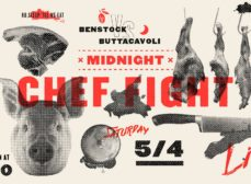 "Are You Ready To Rumble? ""The Midnight Chef Fight"" Series Begins This Saturday Night, May 4th"
